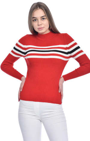 Rib Knitwear Sweater