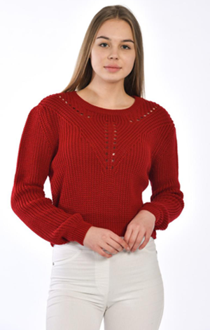 RİB KNİTWEAR SWEATER